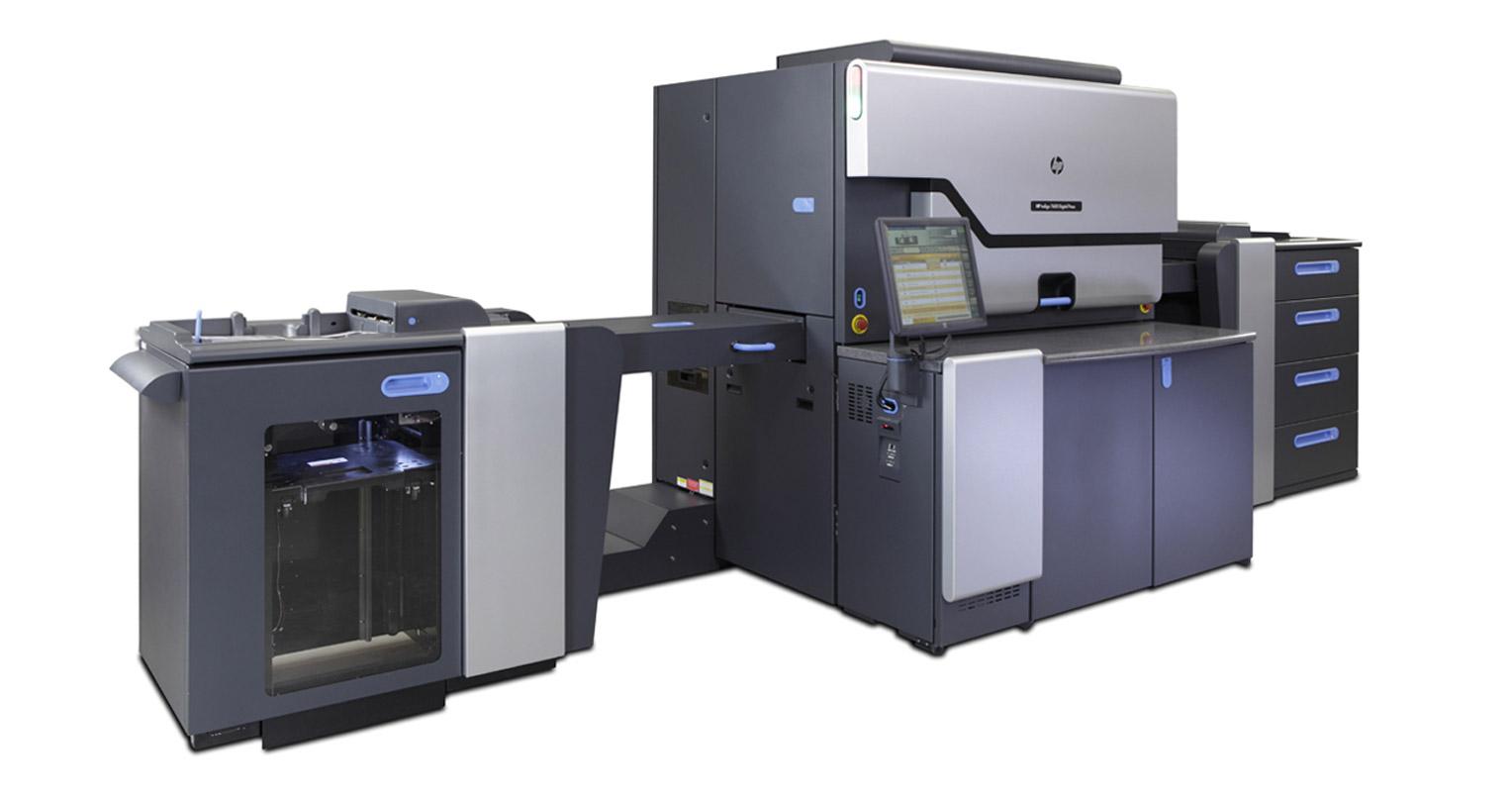 Prensa digital HP Indigo 7600