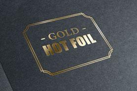 estampado en oro