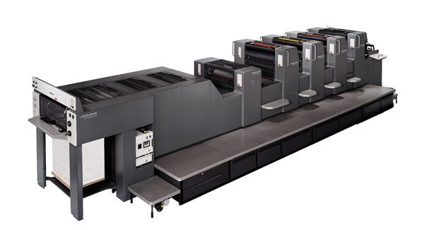 Máquina de imprimir speedmaster 70x100cm de 4 colores