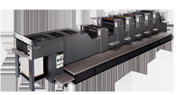 Máquina de imprimir speedmaster 70x100cm de 5 colores